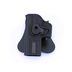 Holster rigide gaucher type Glock