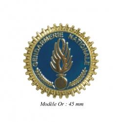 Médaille porte-carte Gendarmerie Mobile