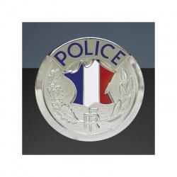 Médaille porte-carte Police RF