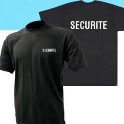 Tee-shirt sécurité Noir