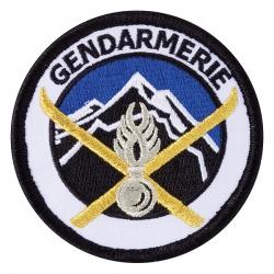 Ecusson Gendarmerie Haute Montagne Tissu