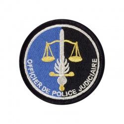 Ecusson Gendarmerie Officier de Police Judiciaire tissu