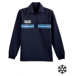 Chemise F1 double face POLICE MUNICIPALE