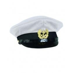 Casquette Marine blanche