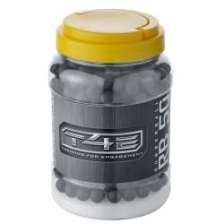 Pot de 500 billes caoutchouc pour T4E cal. 50 (HDR)