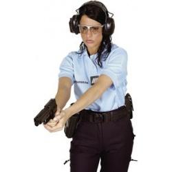 Polo gendarmerie femme manche courte allégé