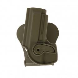 Holster rigide IMI Pamas / Beretta 92/96 Kaki