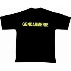 Tee-shirt Gendarmerie Mobile noir