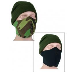 Demi-masque néoprène Woodland / noir