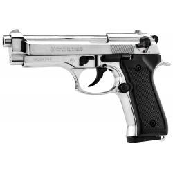 Pistolet 92 AUTO nickelé 9mm PAK - KIMAR