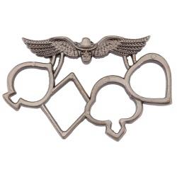 Poing américain POKER métal