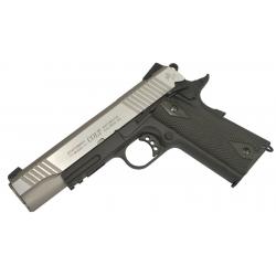COLT 1911 Rail Gun GBB Co2 Bicolore