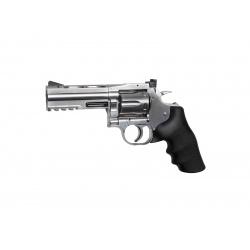 Dan wesson 715 4'' chromé - 6mm
