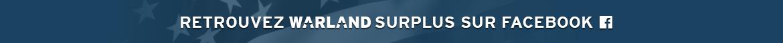 Retrouvez Warland Surplus sur Facebook